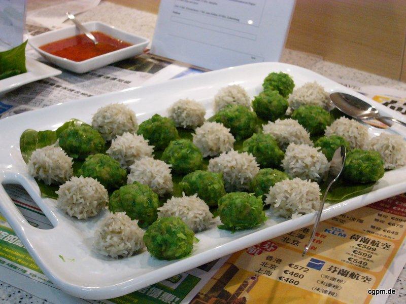 DIM SUM Reisbällchen mit Hühnerbrust